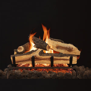Mountain Split Vented Gas Logs - Starfire Direct
