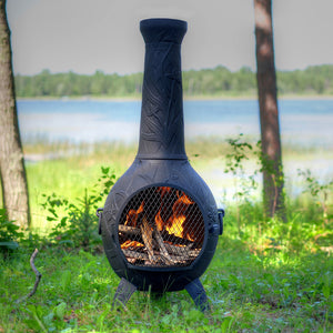 Orchid Gas Chiminea