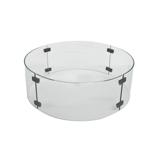 "OW Lee 16"" Round Glass Wind Guard"