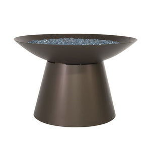 "OW Lee 36"" Round Chat Height Basso Fire Pit"