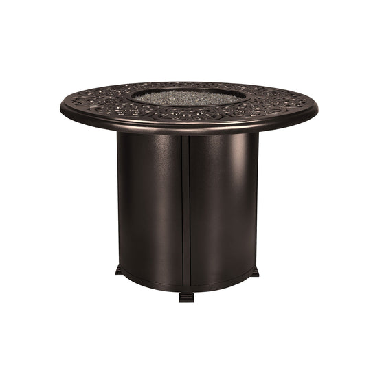 "OW Lee 54"" Round Counter Height Hacienda Fire Pit Table"