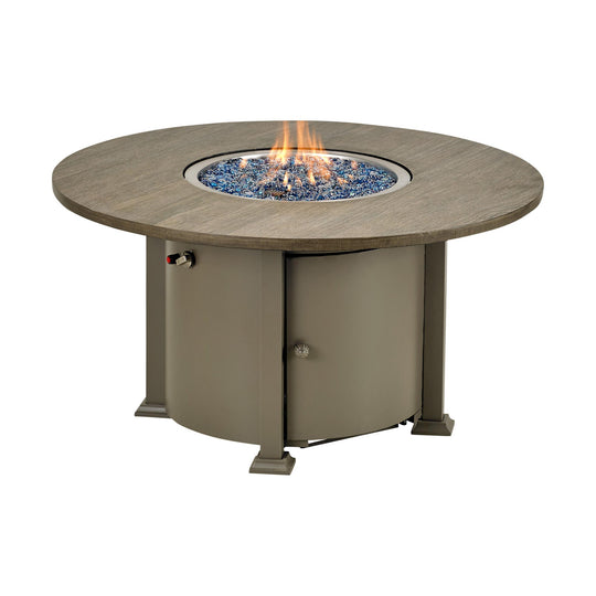 "Patio Resort Lifestyles Rome 48"" Round Gas Fire Table"