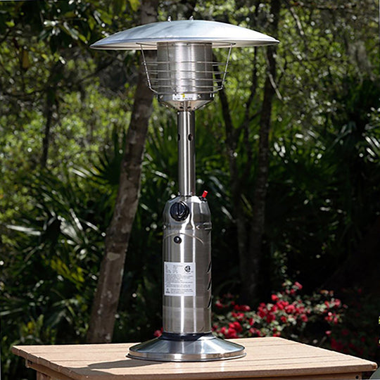 Portable Stainless Steel Table Top Heater