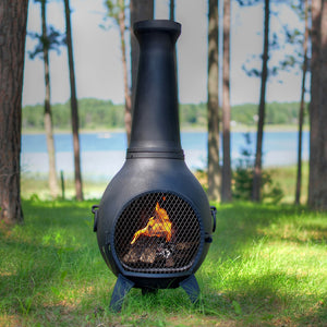 Prairie Gas Chiminea