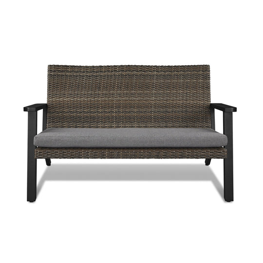 Real Flame Norwood Two Seat Loveseat Bench