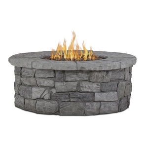 Real Flame Sedona Round Gas Fire Table