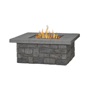 Real Flame Sedona Square Gas Fire Table