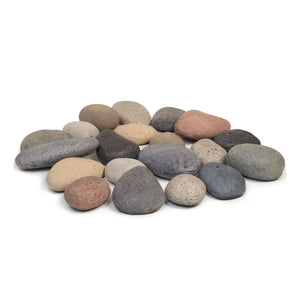 Real Fyre Designer River Rock Fyre Stones - Starfire Direct