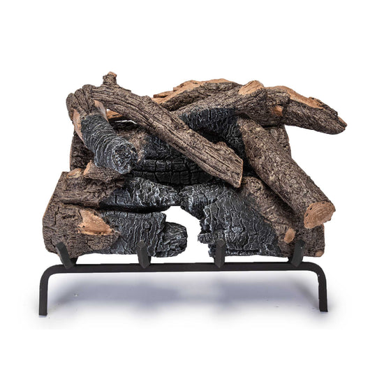 Real Fyre Vented Charred American Oak Gas Logs