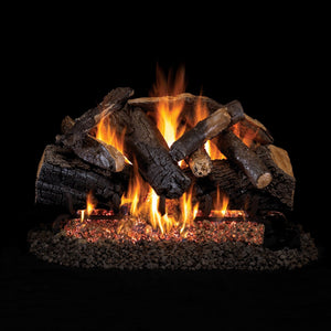 Real Fyre Vented Charred Majestic Oak Gas Logs