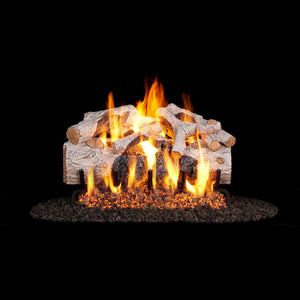 Real Fyre Vented Charred Mountain Birch Gas Logs