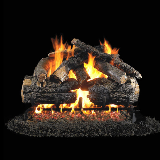 Real Fyre Vented Pioneer Oak Gas Logs