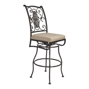 San Cristobal Swivel Bar Stool - Copper Canyon