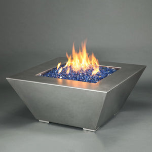 "Starfire Designs 40"" Stainless Steel Edge Gas Fire Pit"