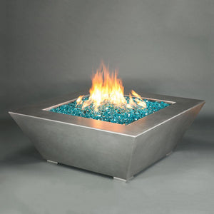 "Starfire Designs 48"" Stainless Steel Edge Gas Fire Pit"