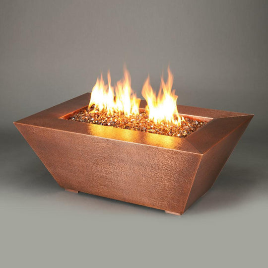 "Starfire Designs 48"" x 32"" Copper Canyon Gas Fire Pit"