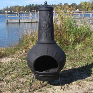 Sun Ray Chiminea - Extra Small - Starfire Direct