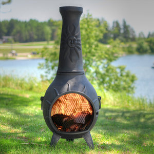 Sun Stack Chiminea