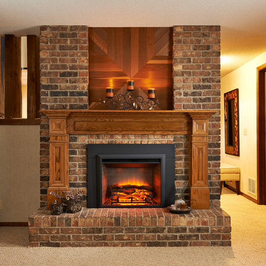 "Surround for 29"" Electric Fireplace Insert - Starfire Direct"