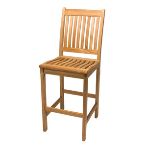 Teak Bar Chair - Starfire Direct