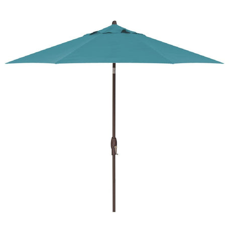 Treasure Garden 9' Auto Tilt Umbrella with Sunbrella Fabric