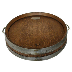 Vin de Flame Barrel Head Wood Tray Burner Cover