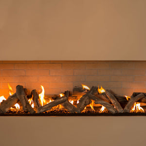 Western Driftwood Linear Vented Gas Logs - Starfire Direct