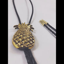 Limited Edition Gold Pineapple Bolo Tie by Thrift Pirate