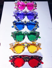 """Will of All the Power in Self"" Rainbow Vision Glasses by Ayah Eye"