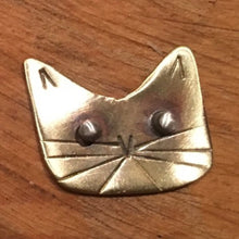 Brass Cat Rings by Stoneywear