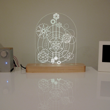 LUMINARI LED table lamp by Pat and Sam