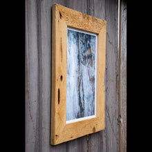Black and White Wood Image in Wormwood Frame by E8N9