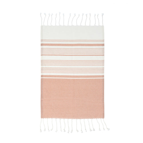 Turkish Hand Towels Set of 4 - Pink