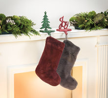 Load image into Gallery viewer, Luxury Faux Fur Stocking