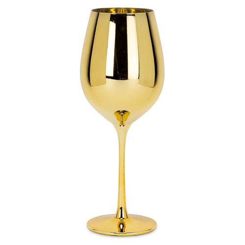 Large Gold Goblet