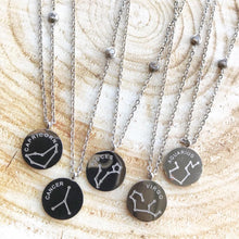 Load image into Gallery viewer, Zodiac Necklace - Silver