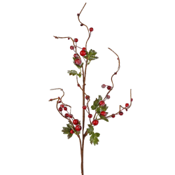 Frosted Berry Twig Spray