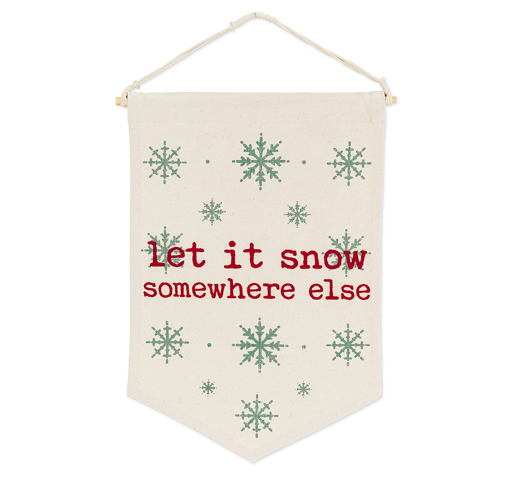 Let it Snow Pennant