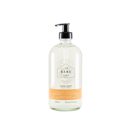 Hand Soap - Blood Orange, Bergamot & Sandalwood 500 mL
