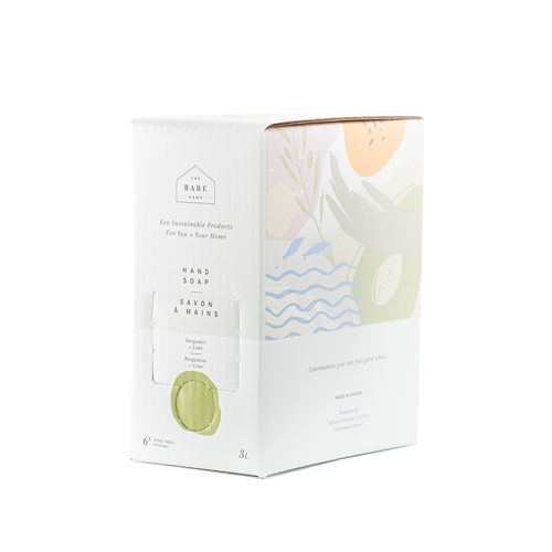 Hand Soap - Bergamot & Lime 3L Refill Box