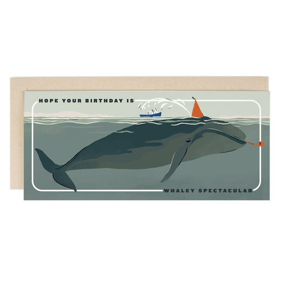 'Whaley Spectacular Birthday' Greeting Card