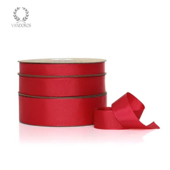 Essentials Grosgrain 'Red' Ribbon