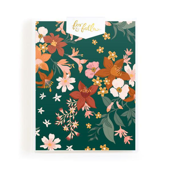 Blank 'Bohemia Forest Florals' Greeting Card Boxed Set