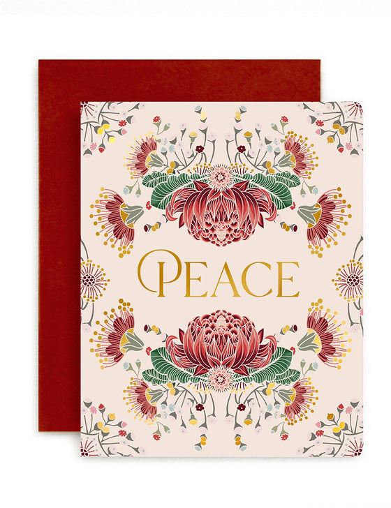 'Peace' Greeting Card