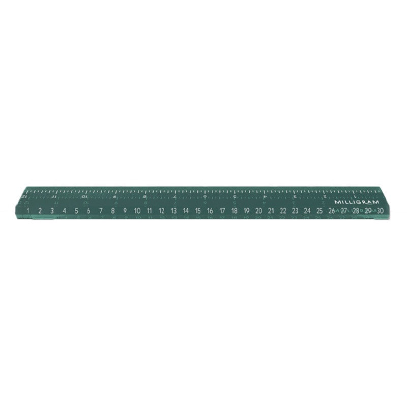 Acrylic Ruler 'Green'