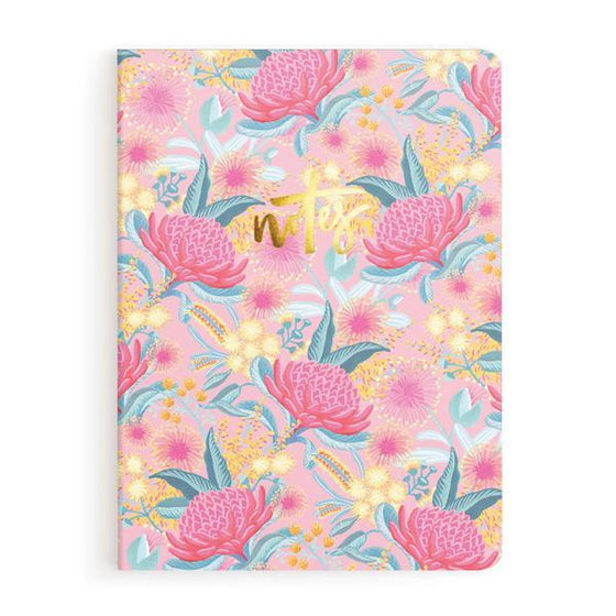 'Bottlebrush' Notebook