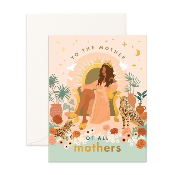 'Mother of All Mother's' Hera Greeting Card