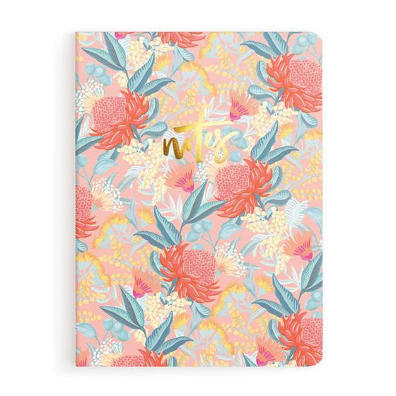 'Wattle' Notebook