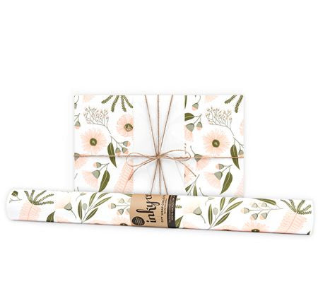 'Musk Flora' Gift Wrap (10m Roll)