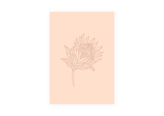 'Protea' Poster (Size Options)